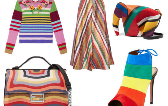 The one trend that just won't go away: Color Me Rainbow