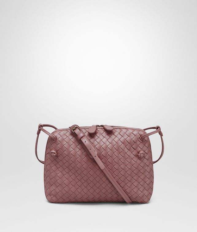 bb7e48a17dc6 Currently Coveting  Bottega Veneta Messenger in Dusty Rose - Mad ...